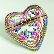 Limoges sevres heart box