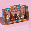Limoges perfume bottles vitrine box