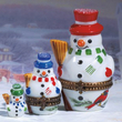 Limoges snowmen family box