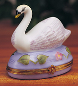Limoges big swan box